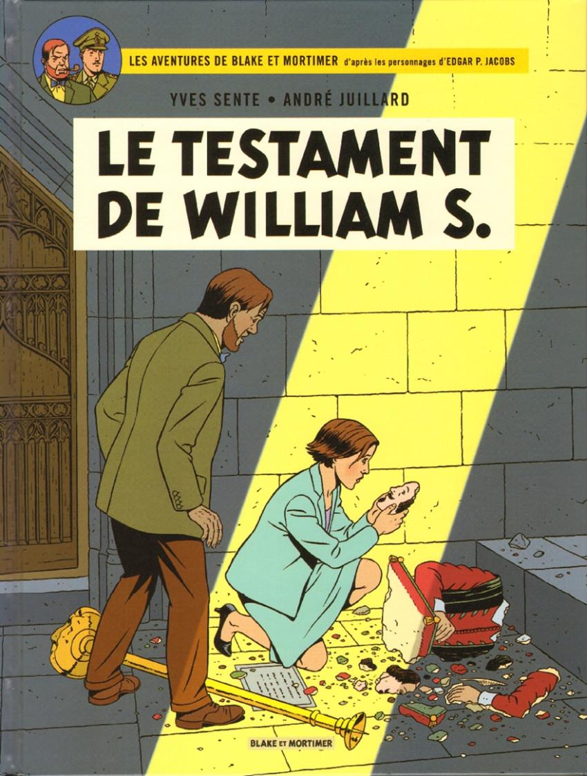 Couverture de Blake et Mortimer -24- Le Testament de William S.