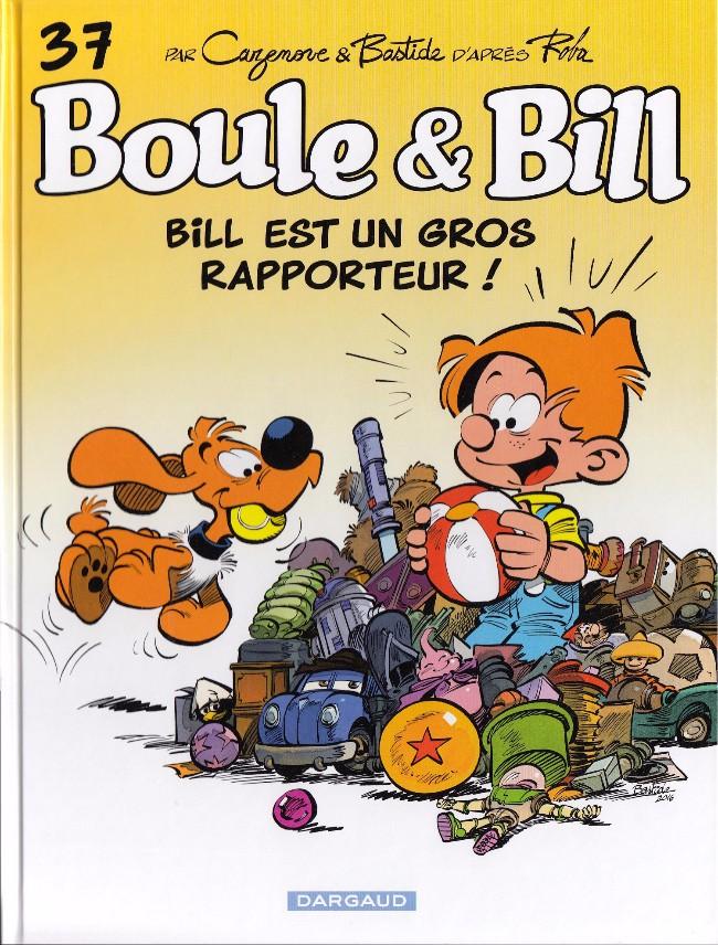 Couverture de Boule et Bill -02- (Édition actuelle) -37- Bill est un gros rapporteur !