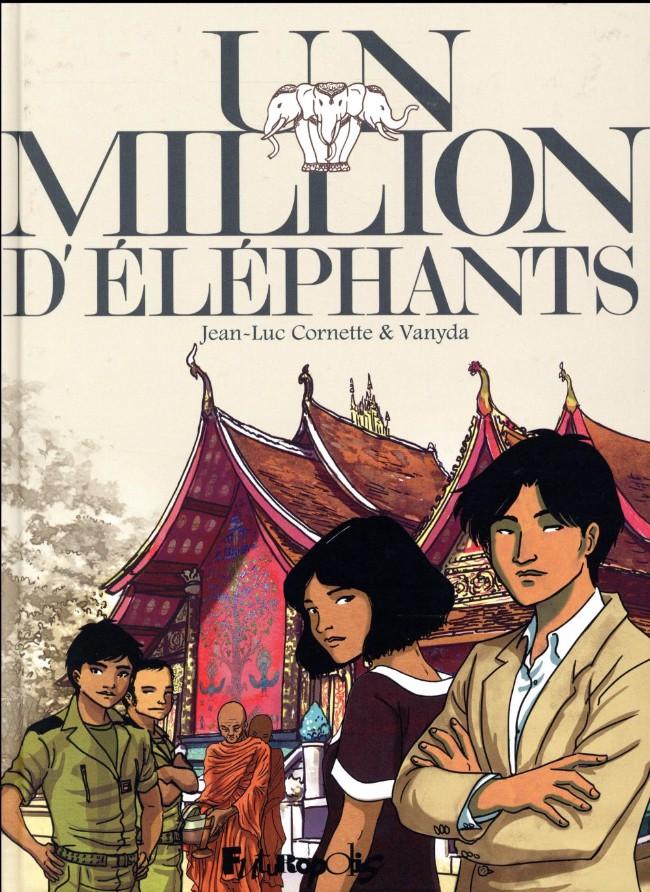 Couverture de Un million d'éléphants