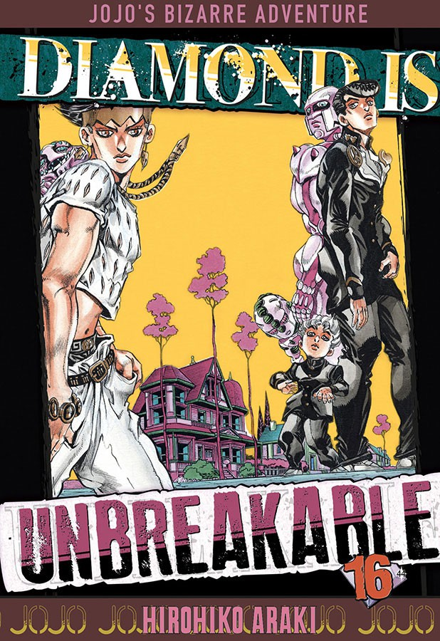 Couverture de Jojo's Bizarre Adventure - Diamond is unbreakable -16- Tome 16