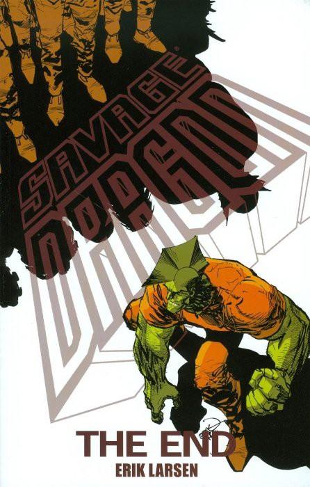 Couverture de Savage Dragon Vol.2 (The) (Image comics - 1993) -INT24- The End