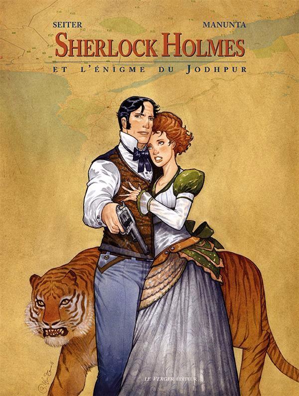 Couverture de Sherlock Holmes (Seiter/Manunta) -3- Sherlock Holmes et l'Énigme du Jodhpur