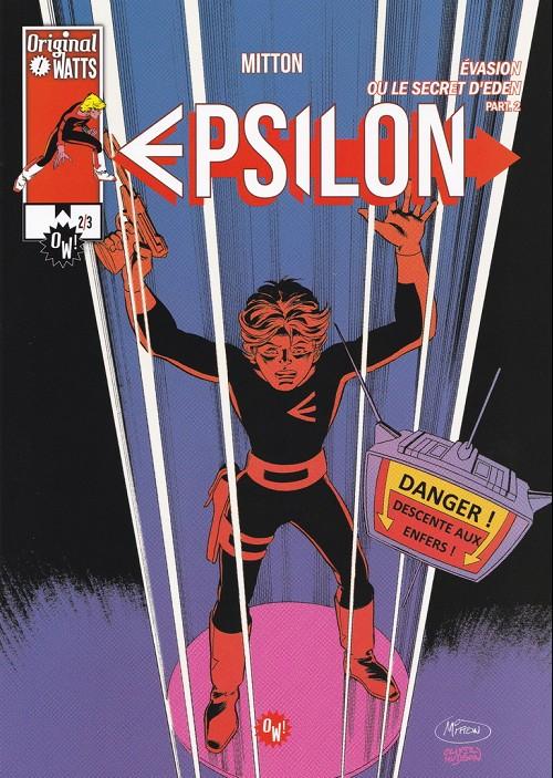 Couverture de Epsilon -5- Evasion ou le secret d'eden part2