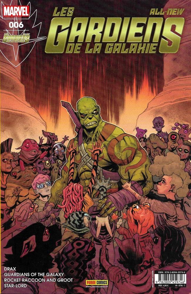 Couverture de All-New Les Gardiens de la Galaxie -6- La Croisade des enfants