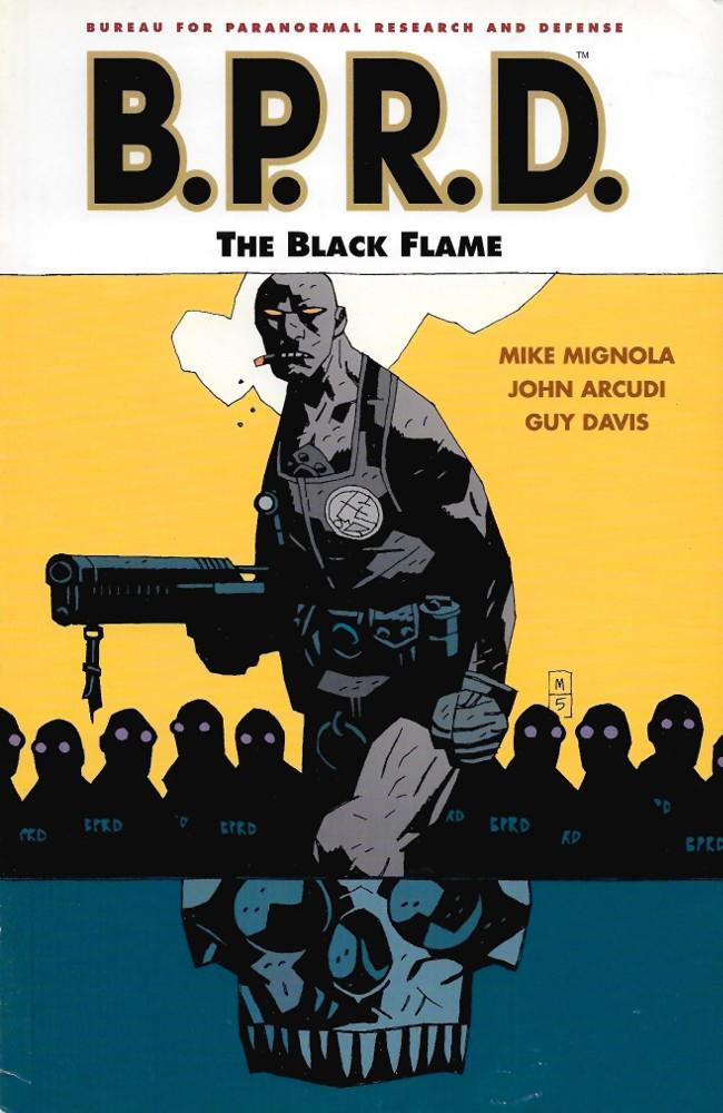 Couverture de B.P.R.D. (2003) -INT05- The Black Flame