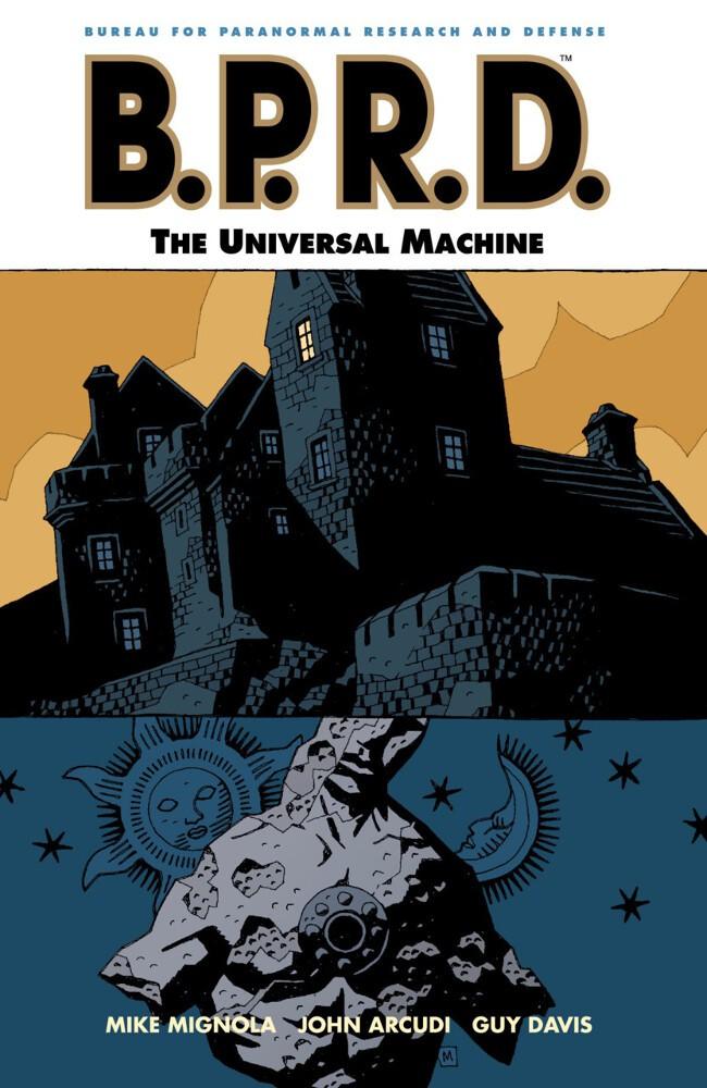 Couverture de B.P.R.D. (2003) -INT06- The Universal Machine