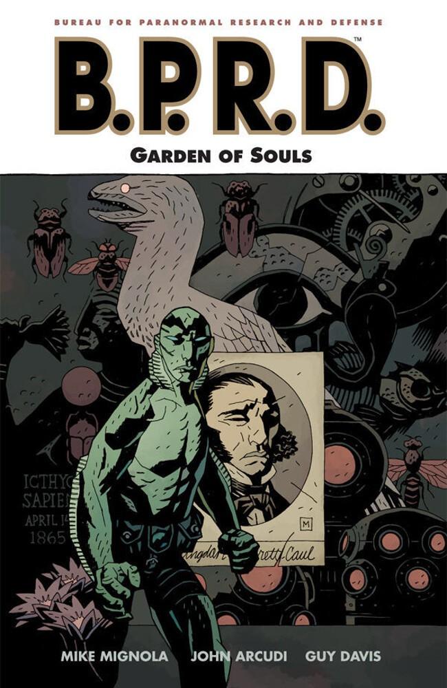 Couverture de B.P.R.D. (2003) -INT07- Garden of Souls