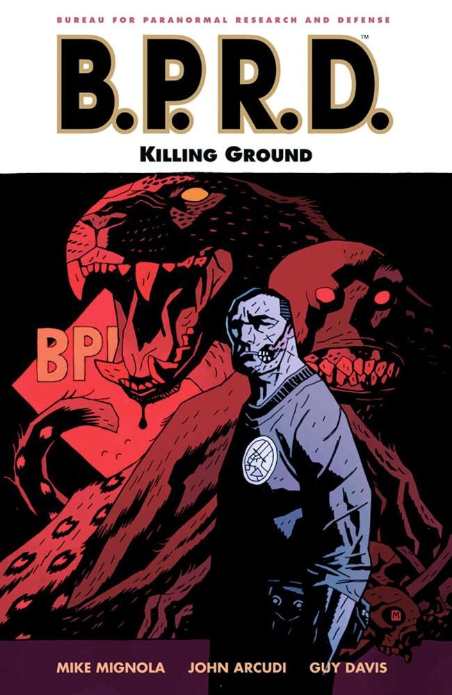 Couverture de B.P.R.D. (2003) -INT08- Killing Ground