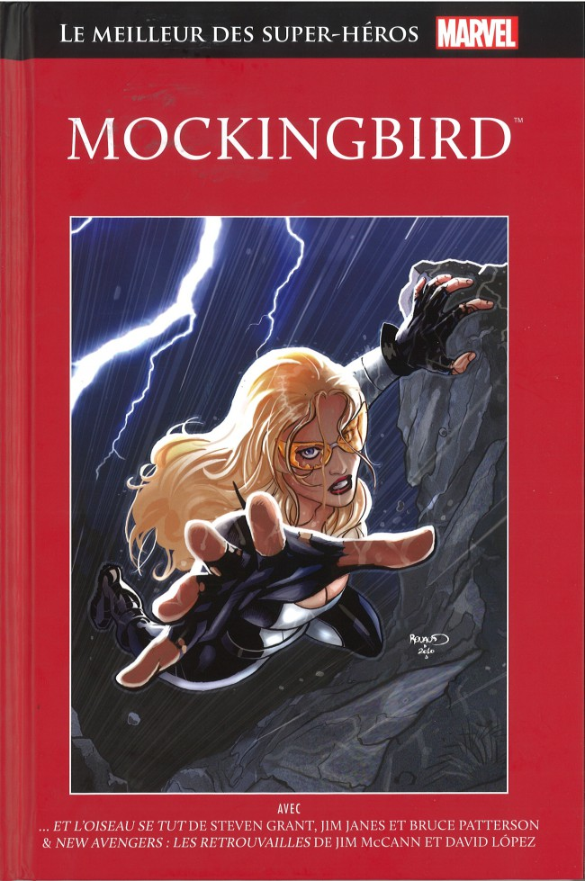 Couverture de Marvel Comics : Le meilleur des Super-Héros - La collection (Hachette) -23- Mockingbird
