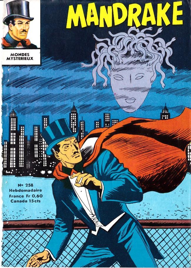 Couverture de Mandrake (1re Série - Remparts) (Mondes Mystérieux - 1) -258- La masque d'argent