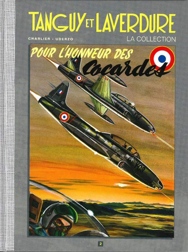 Couverture de Tanguy et Laverdure - La Collection (Hachette) -2- Pour l'honneur des cocardes