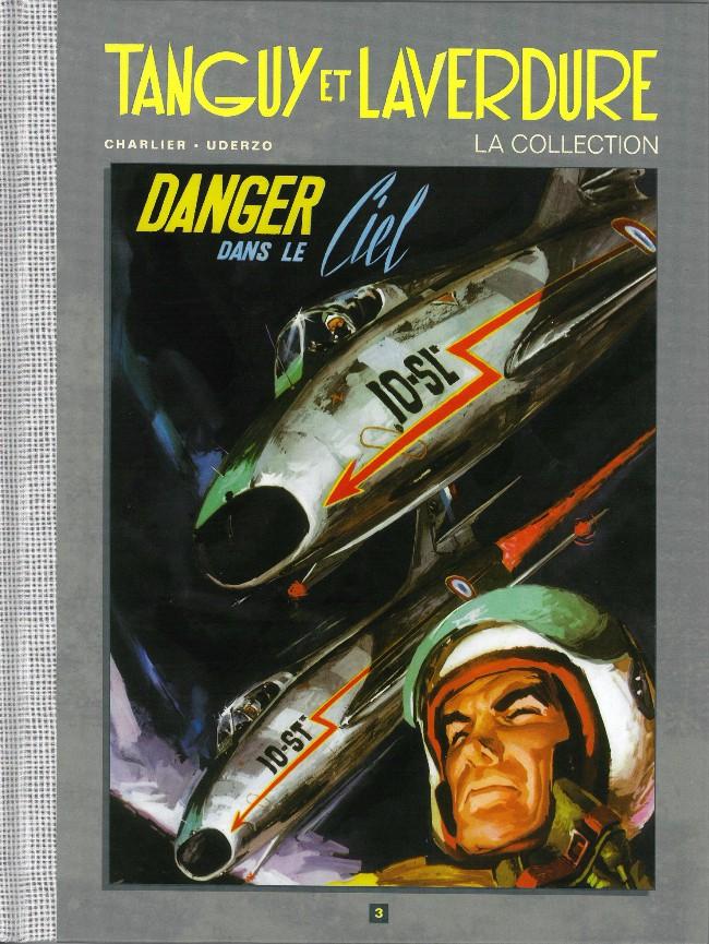 Couverture de Tanguy et Laverdure - La Collection (Hachette) -3- Danger dans le ciel