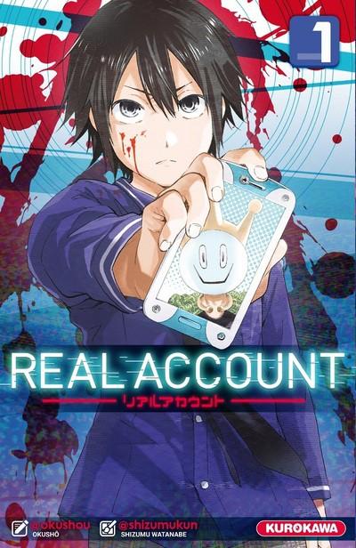 Couverture de Real Account -1- Tome 1