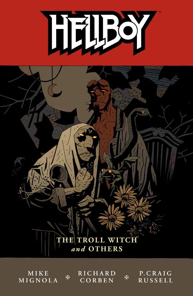 Couverture de Hellboy (1994) -INT07- The Troll Witch and Others