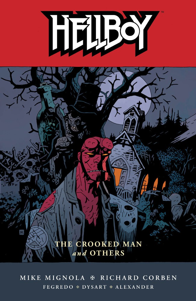 Couverture de Hellboy (1994) -INT10- The Crooked Man and Others