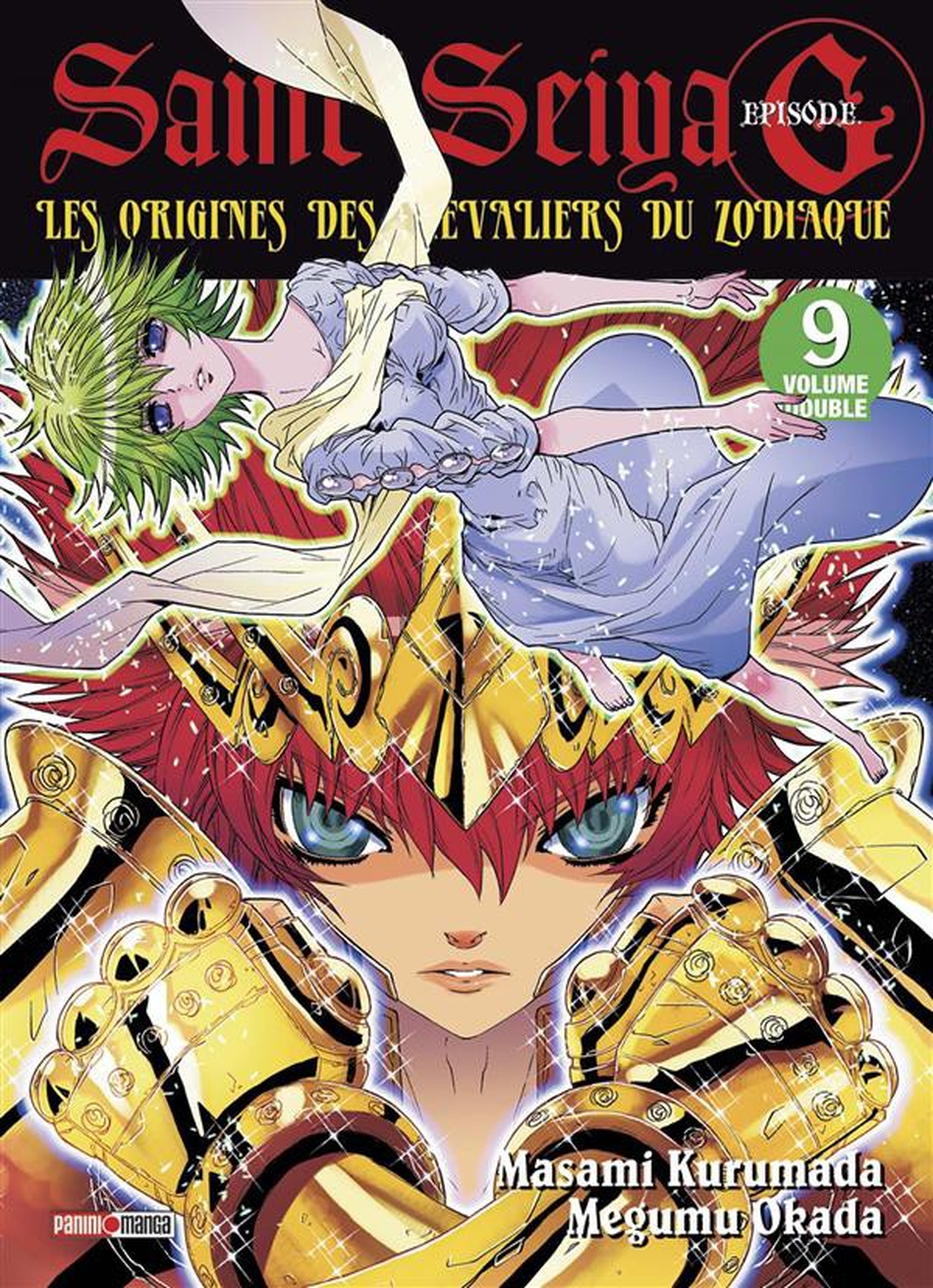 Couverture de Saint Seiya Episode G (Album Double) -9- Tome 9