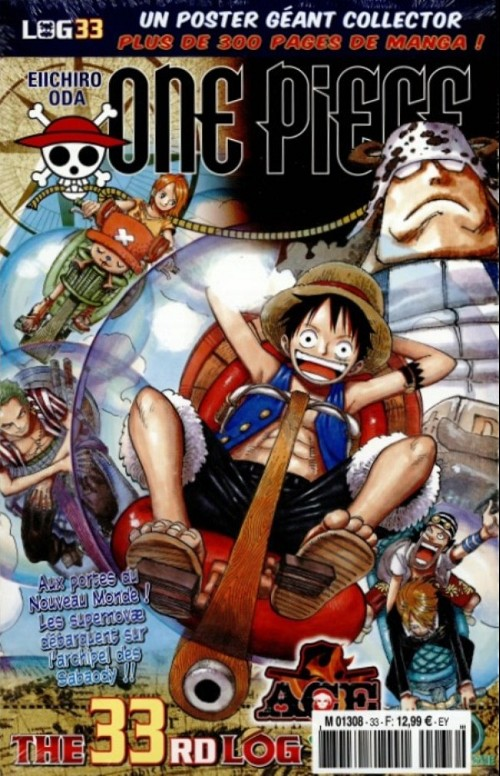 Couverture de One Piece - La collection (Hachette) -33- The 33th Log