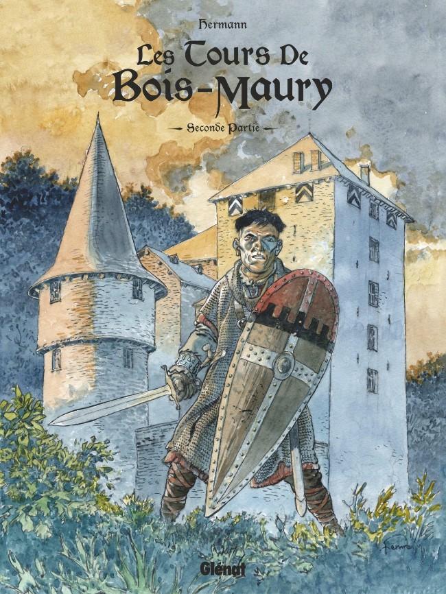 Couverture de Les tours de Bois-Maury -INT2- Intégrale Seconde Partie