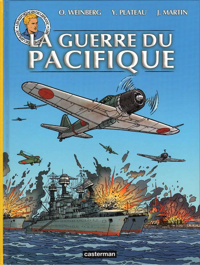 Couverture de Lefranc (Les voyages de/Les reportages de) -8- La guerre du pacifique