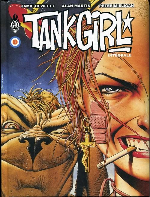 Couverture de Tank Girl -INT- Intégrale