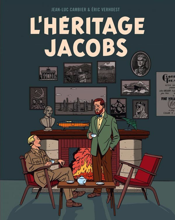 Couverture de (AUT) Jacobs, Edgar P. - L'héritage Jacobs