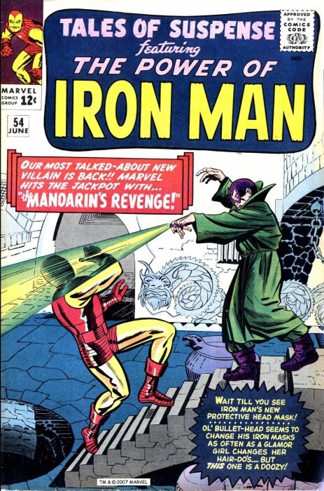 Couverture de Tales of suspense Vol. 1 (Marvel comics - 1959) -54-