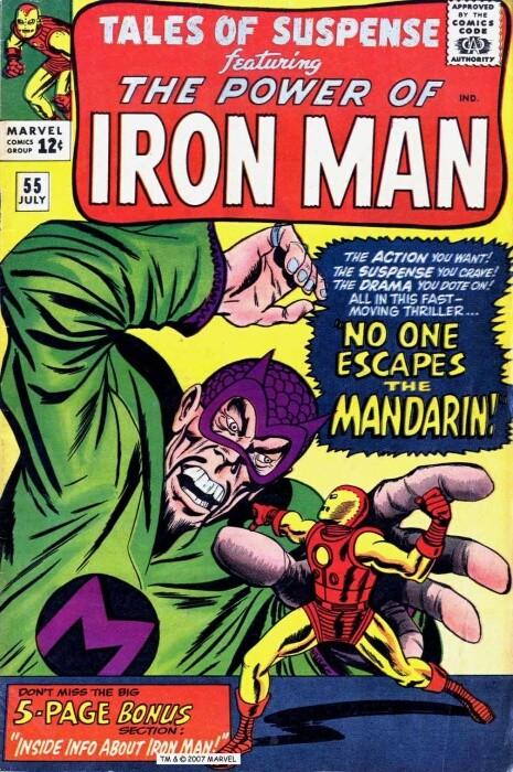 Couverture de Tales of suspense Vol. 1 (Marvel comics - 1959) -55- No One Escapes The Mandarin!