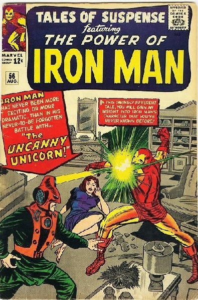 Couverture de Tales of suspense Vol. 1 (Marvel comics - 1959) -56- The Uncanny Unicorn!