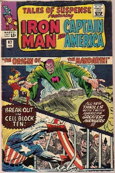 Couverture de Tales of suspense Vol. 1 (Marvel comics - 1959) -62- The origin of the Mandarin!