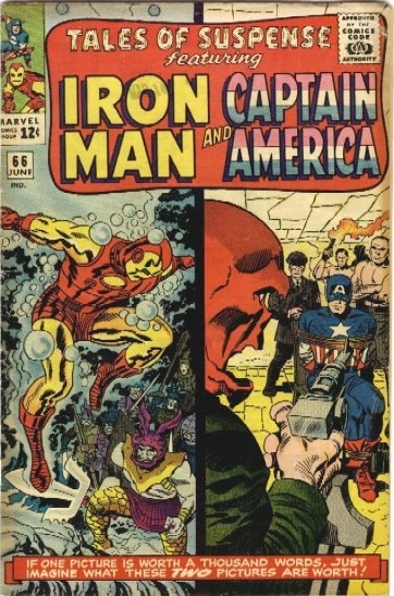 Couverture de Tales of suspense Vol. 1 (Marvel comics - 1959) -66- (sans titre)