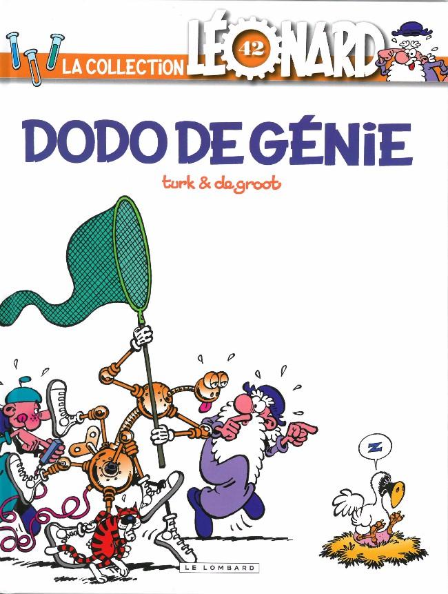 Couverture de Léonard - La Collection (Prisma Media) -4231- Dodo de génie