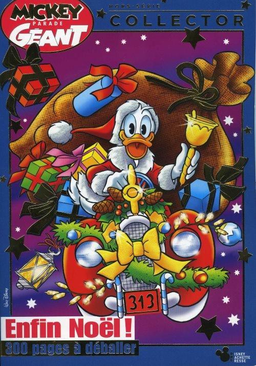Couverture de Mickey Parade Géant Hors-série / collector -9HS09- Enfin Noël !
