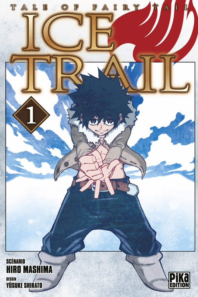 Couverture de Fairy Tail - Ice Trail -1- Tome 1