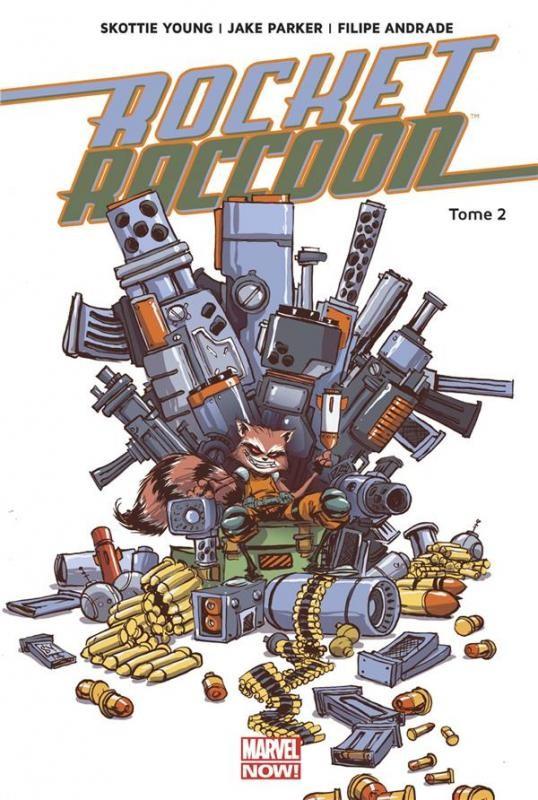 Couverture de Rocket Raccoon (Marvel Now!) -2- Monstre en folie