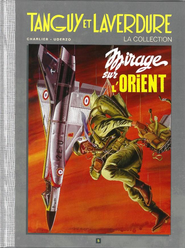 Couverture de Tanguy et Laverdure - La Collection (Hachette) -5- Mirage sur l'Orient