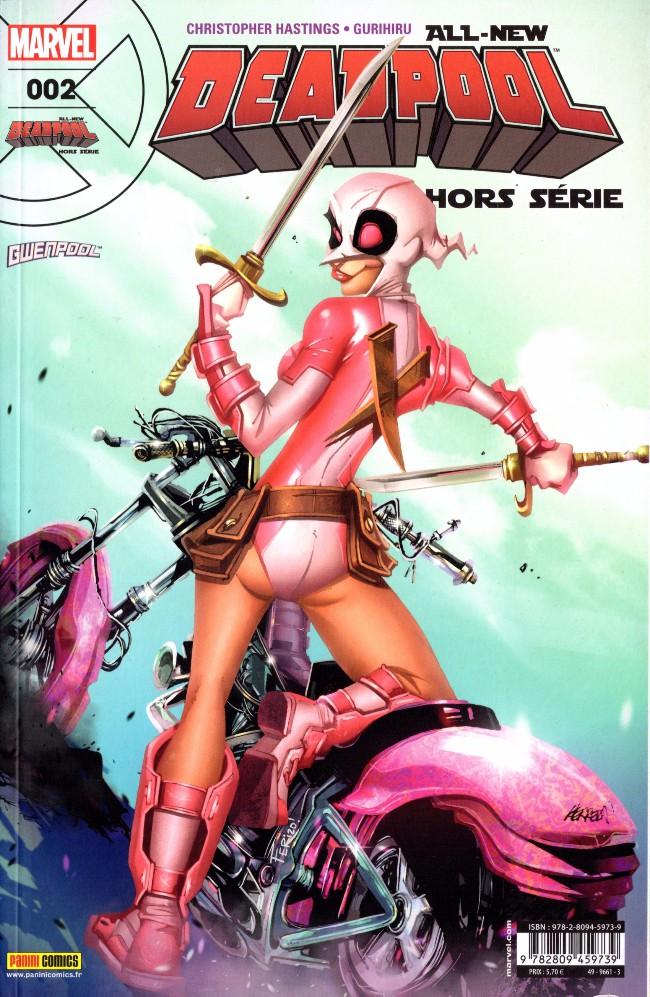 Couverture de All-New Deadpool -HS02- C'est l'histoire d'une Poole et d'un Canard
