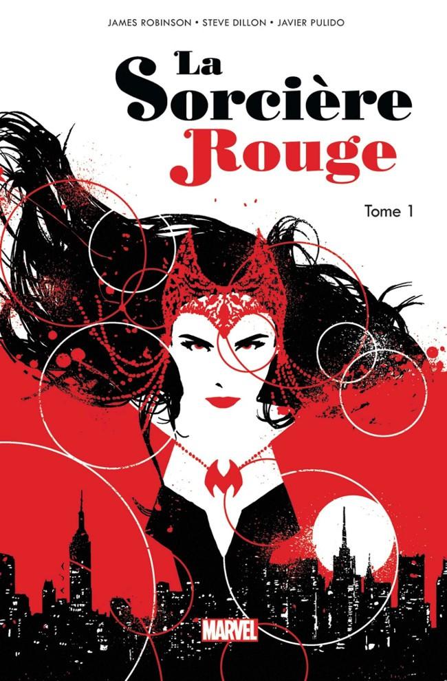 Couverture de La sorcière Rouge -1- La Route des Sorcières