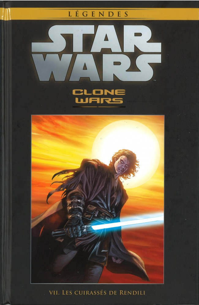 Couverture de Star Wars - Légendes - La Collection (Hachette) -2932- Clone Wars - VII. Les Cuirassés de Rendili