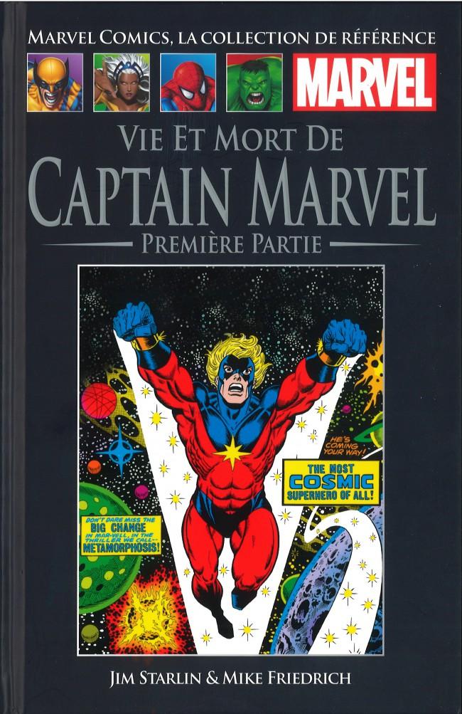 Couverture de Marvel Comics - La collection (Hachette) -73XXII- Vie et Mort de Captain Marvel - Première Partie