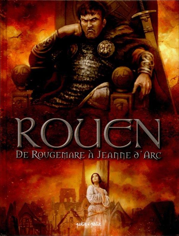 Couverture de Rouen -2- De Rougemare à Jeanne d'Arc
