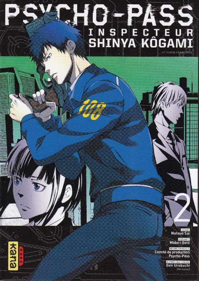 Couverture de Psycho-Pass - Inspecteur Shinya Kôgami -2- Tome 2