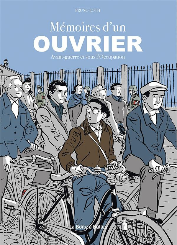 Couverture de Apprenti / Ouvrier -INT- Mémoires d'un ouvrier