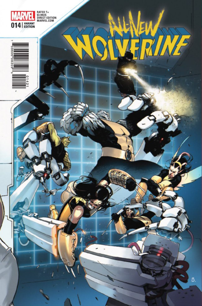 Couverture de All-New Wolverine (2016) -14C- Issue 14