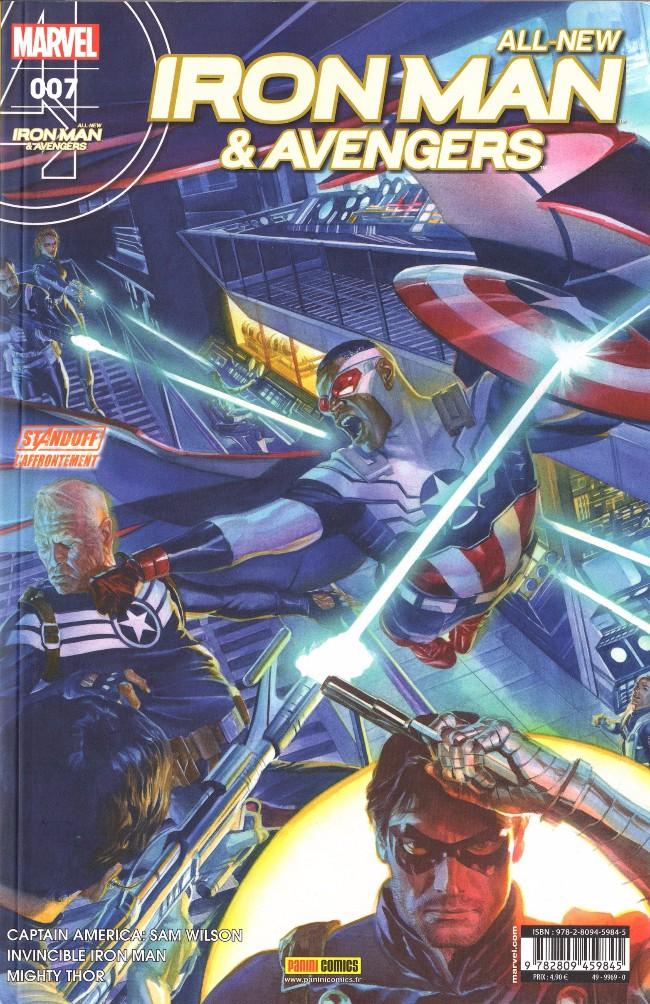 Couverture de All-New Iron Man & Avengers -7- Pésentation