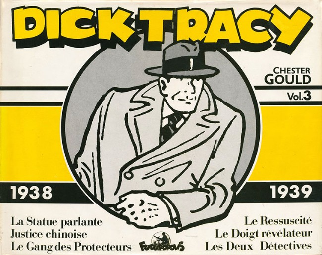 Couverture de Dick Tracy -3INT- Vol. 3 - 1938/1939
