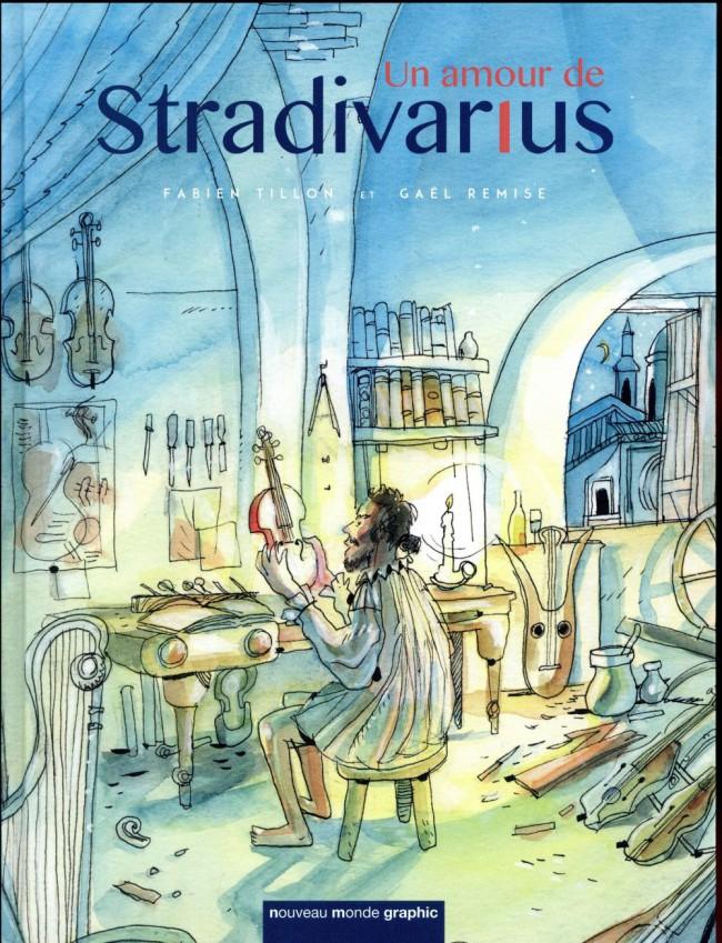 Couverture de Un amour de Stradivarius
