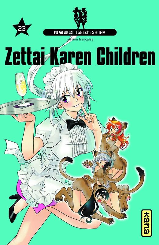 Couverture de Zettai Karen Children -23- Tome 23