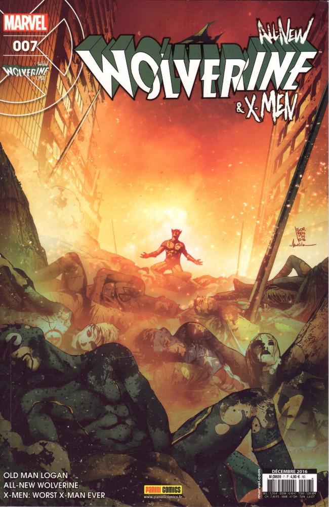 Couverture de All-New Wolverine & X-men -7- Le Pire X-Man qui soit