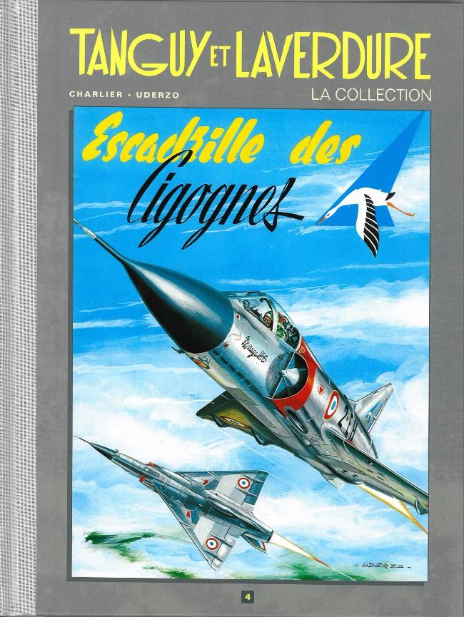 Couverture de Tanguy et Laverdure - La Collection (Hachette) -4- Escadrille des cigognes
