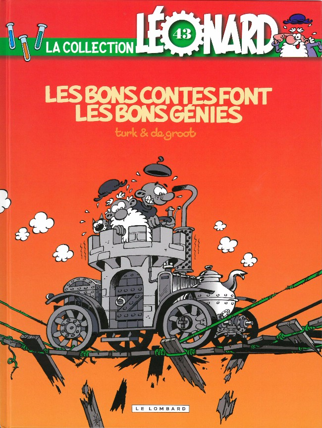 Couverture de Léonard - La Collection (Prisma Media) -4329- Les bons contes font les bons génies